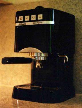 gaggia baby kaffeewiki die wissensdatenbank rund um. Black Bedroom Furniture Sets. Home Design Ideas